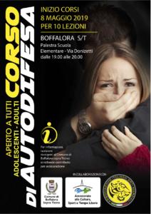 Corso Autodifesa Personale 2019