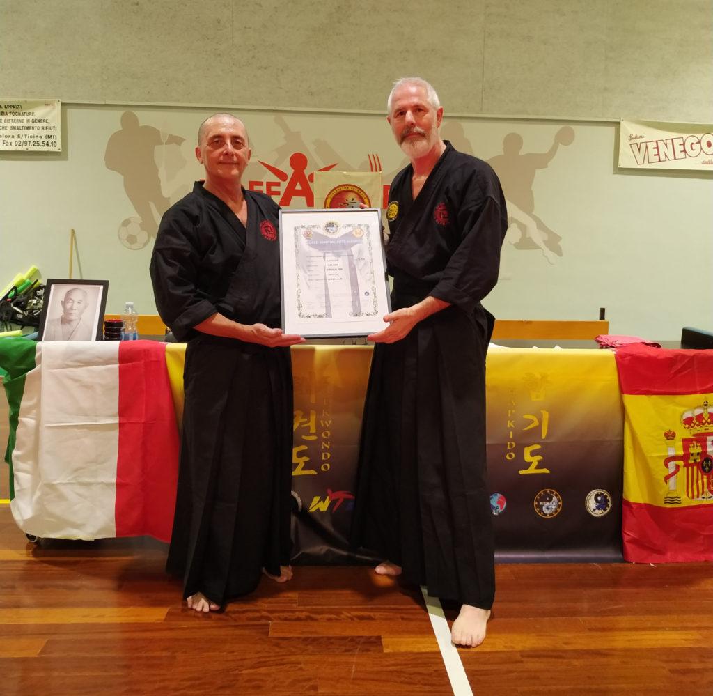 5^ DAN Hapkido Nedokwan Maestro Virgilio